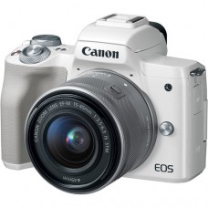CANON EOS M50 with 15-45mm Lens (WHITE)  [ONLINE PRICE]
