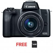 CANON EOS M50 15-45mm KIT BLACK