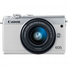CANON EOS M100 WHITE WITH 15-45MM LENS