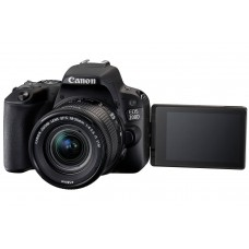 Canon EOS 200D with 18-55mm Kit Black [ONLINE PRICE] [FREE REGULAR E-GC AND CLASSIC M BAG via CANON RED APP]