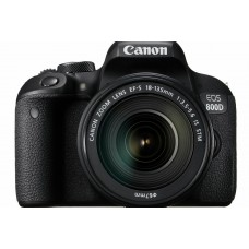 Canon EOS 800D DSLR with 18-135 IS STM KIT [ONLINE PRICE] [FREE CLASSIC M BAG, EXTRA BATTERY via CANON RED APP]