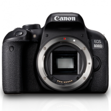 Canon EOS 800D DSLR (Body) [ONLINE PRICE] [FREE REGULAR E-GC AND CLASSIC M BAG, EXTRA BATTERY via CANON RED APP]