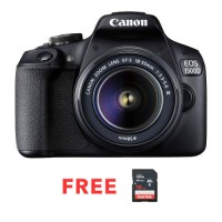 CANON EOS 1500D WITH 18-55 IS II BLACK