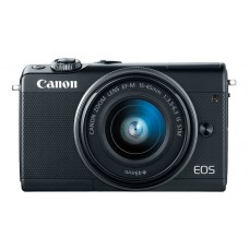 CANON EOS M100 BLACK WITH 15-45MM LENS