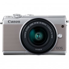 CANON EOS M100 Gray with 15-45 lens [ONLINE PRICE] OUT OF STOCK