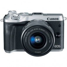 Canon EOS M6  with 15-45mm Silver Kit [ONLINE PRICE] [REWARDS via CANON RED APP: up to 3,000 points]