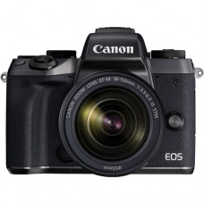Canon EOS M5 with 18-150mm Kit [ONLINE PRICE] [FREE MOUNT ADAPTER, EXTRA BATTERY, EFM 28MM, REGULAR E-GC via CANON RED APP]