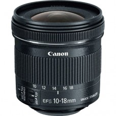 Canon EF S 10-18 f/4.5-5.6 IS STM