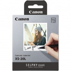 CANON SELPHY COLOR INK & LABEL XS-20L (20 Sheets)