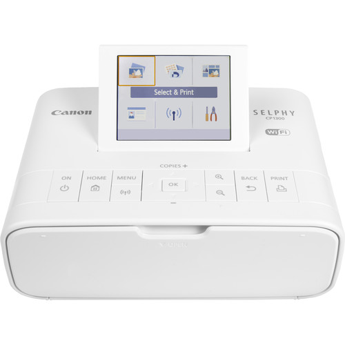 CANON SELPHY CP1300 WHITE (CMP) (Black) [ONLINE PRICE]