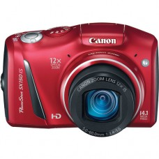Canon PowerShot SX150 Red [CLEARANCE SALE, NO WARRANTY, BATTERY NOT INCLUDED. Battery for camera is 2 AA's]