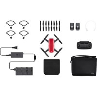 DJI Spark Fly More Combo - Lava Red