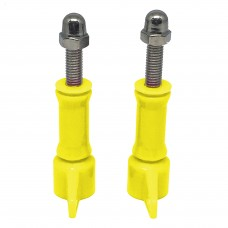 Enovation Colored Screw and Cap for GoPro HERO3+/3/2/1 Yellow