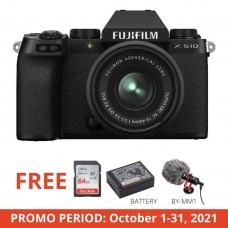 FUJIFILM X-S10 W/15-45MM (BLACK)