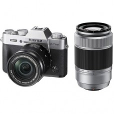 FUJIFILM X-T20 WITH 16-50MM AND 50-230MM SILVER (KIT) [ONLINE PRICE] [FREE SANDISK ULTRA 16GB]