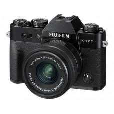 FUJIFILM DIGITAL CAMERA X-T20 BLACK (W/ 15-45MM II) (BLACK KIT) [ONLINE PRICE] [FREE SANDISK ULTRA 16GB]