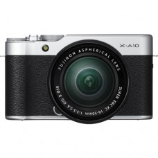 Fujifilm X-A10 with 16-50mm - Silver (KIT) [ONLINE PRICE] [FREE SANDISK ULTRA 16GB]