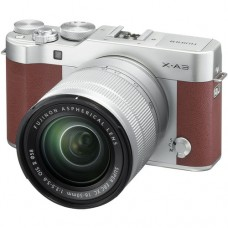 Fujifilm X-A3 w/16-50mm (Brown KIT) [ONLINE PRICE] [with FREE BATTERY, SD CARD, AIR BLOWER & CASE BAG]
