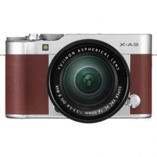 Fujifilm X-A3 w/16-50mm (Brown KIT) [ONLINE PRICE] [FREE SANDISK ULTRA 16GB]