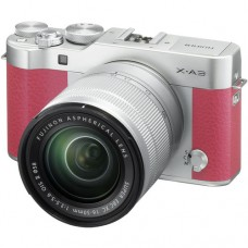 Fujifilm X-A3 w/ 16-50mm (Pink KIT) [ONLINE PRICE] [with FREE BATTERY SD CARD, AIR BLOWER & CASE BAG]