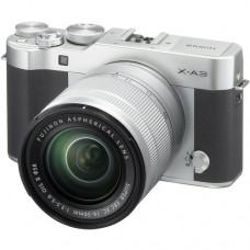 Fujifilm X-A3 w/16-50mm (Silver KIT) [ONLINE PRICE] [with FREE BATTERY SD CARD, AIR BLOWER & CASE BAG]