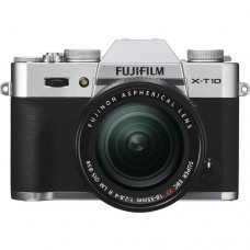 Fujifilm X-T10 w/ Fujinon XC 18-55mm (Silver KIT) [ONLINE PRICE] [with FREE MEMORY CARD, CAMERA BAG]