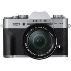 FUJIFILM X-T20 W/ 16-50MM (SILVER KIT) [ONLINE PRICE] [FREE SANDISK ULTRA 16GB and BATTERY]