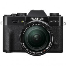 Fujifilm X-T20 w/ 18-55mm (Black KIT)  [ONLINE PRICE] [FREE SANDISK ULTRA 16GB and EXTRA BATTERY]