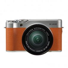 Fujifilm X-A10 with 16-50mm - Brown (KIT) [ONLINE PRICE] [FREE SANDISK ULTRA 16GB]