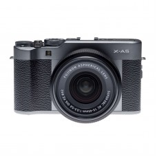 FUJIFILM X-A5 WITH 15-45MM LENS (DARK SILVER)