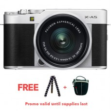 FUJIFILM X-A5 WITH 15-45MM LENS (SILVER KIT)