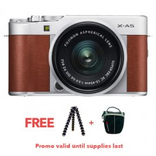FUJIFILM X-A5 WITH 15-45MM LENS (BROWN KIT)