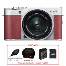 FUJIFILM X-A5 WITH 15-45MM LENS (PINK KIT)