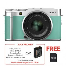 FUJIFILM X-A7 WITH 15-45MM LENS MINT GREEN