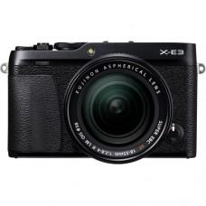 FUJIFILM X-E3 MIRRORLESS DIGITAL CAMERA WITH 18-55 (BLACK)