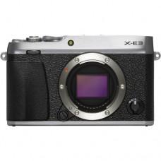 Fujifilm X-E3 Mirrorless Digital Camera Silver (Body) [ONLINE PRICE] [FREE SANDISK ULTRA 16GB]