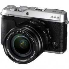 Fujifilm X-E3 Mirrorless Digital Camera with 18-55 (Silver) [ONLINE PRICE] [FREE SANDISK ULTRA 16GB]