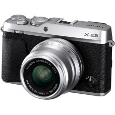 FUJIFILM X-E3 MIRRORLESS DIGITAL CAMERA WITH 23MM F/2 LENS (SILVER) [ONLINE PRICE]