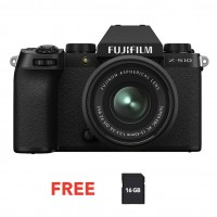 FUJIFILM DIGITAL CAMERA X-S10 W/15-45MM (BLACK)