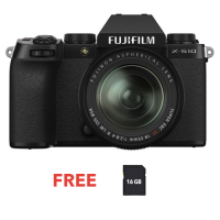 FUJIFILM DIGITAL CAMERA X-S10 W/18-55MM (BLACK)