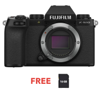 FUJIFILM DIGITAL CAMERA X-S10 BODY (BLACK)