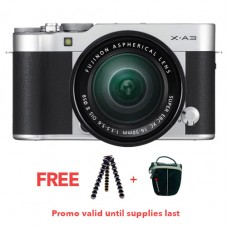 FUJIFILM X-A3 W/16-50MM (SILVER KIT)
