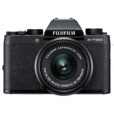 FUJIFILM X-T100 with 15-45mm LENS KIT BLACK