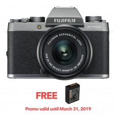 FUJIFILM X-T100 with 15-45mm LENS KIT SILVER