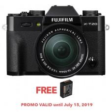 FUJIFILM X-T20 W/ 16-50MM (BLACK KIT)