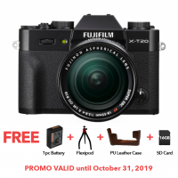 FUJIFILM X-T20 W/ 18-55MM (BLACK KIT)