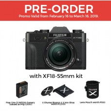 FUJIFILM X-T30 with 18-55mm KIT LENS BLACK