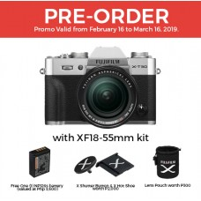 FUJIFILM X-T30 with 18-55mm KIT LENS SILVER