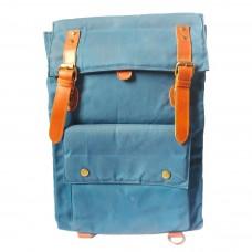 GOUACHE NOMAD BAG (SAPPHIRE BLUE/AMARETTO)