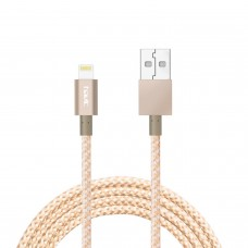 HAVIT APPLE MFI CERTIFIED USB DATA SYNC & CHARGING POWER CORD FOR iPhone 5/5S/5C/6/6S/6 plus/iPad/iPod (GOLD)